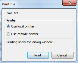 Print documents
