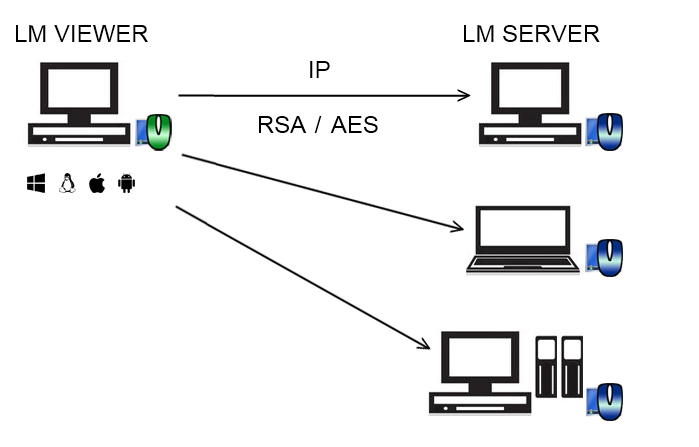 Direct IP connection